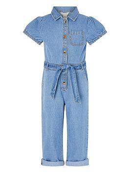 monsoon-girls-denim-puff-sleeve-jumpsuit-blue