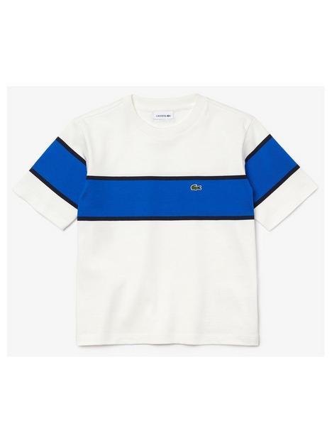 lacoste-boys-colour-block-panel-t-shirt-whiteblue