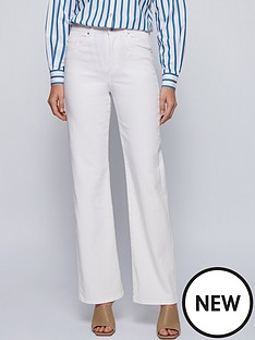 boss-modern-flare-jeans-cream