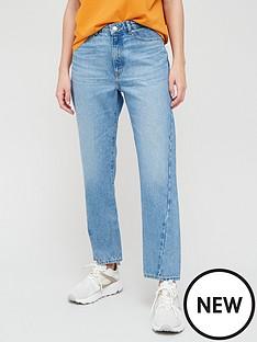 boss-straight-crop-jeans-bluenbsp