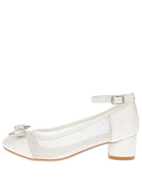 monsoon-girls-diamante-bow-princess-shoe-silver