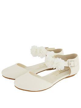 monsoon-girls-two-part-corsage-flat-shoe-ivory