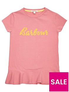 barbour-girls-rebecca-frill-hem-t-shirt-vintage-rose