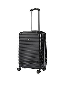rock-luggage-chicago-medium-8-wheel-suitcase-black
