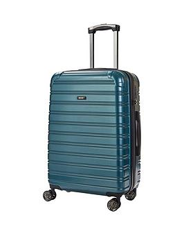 rock-luggage-chicago-medium-8-wheel-suitcase-green