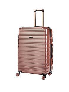 rock-luggage-chicago-large-8-wheel-suitcase-rose-pink
