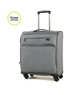 rock-luggage-madison-carry-on-4-wheel-suitcase-grey