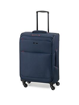 rock-luggage-ever-lite-medium-4-wheel-suitcase-navy