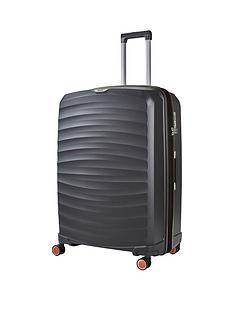 rock-luggage-sunwave-large-8-wheel-suitcase-charcoal