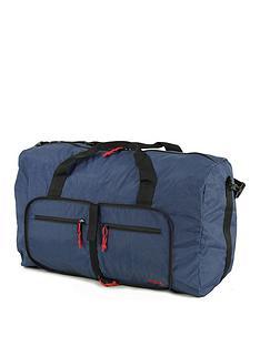 rock-luggage-large-foldaway-holdall-navy