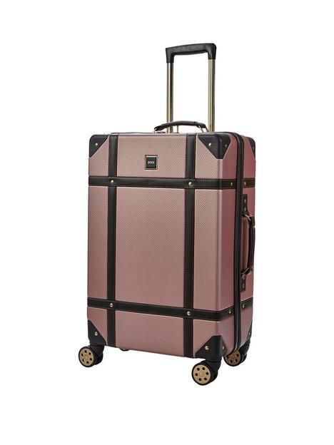 rock-luggage-vintage-medium-8-wheel-suitcase-rose-pink