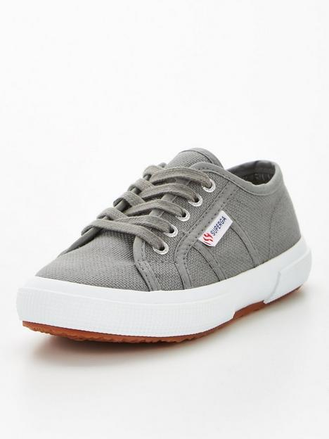 superga-2750-jcot-classic-lace-up-plimsoll-pumps-grey