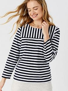 accessorize-stripe-boat-neck-t-shirt