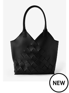 accessorize-harley-weave-shopper-black