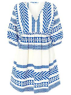 accessorize-jacquard-dress-blue