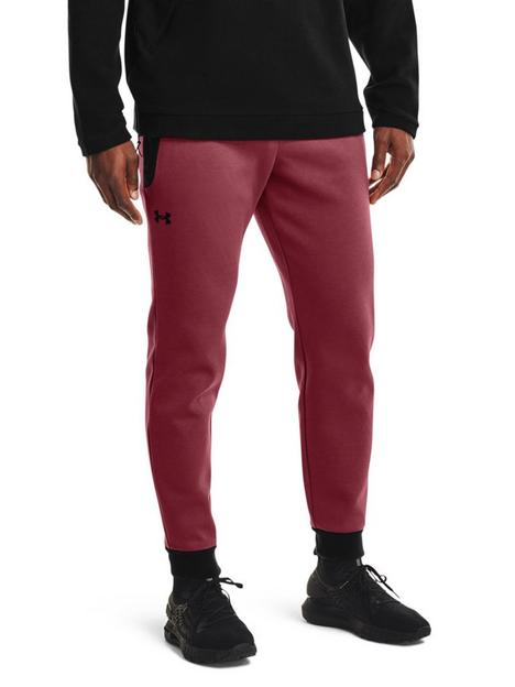 under-armour-training-recover-fleece-pants-burgundy