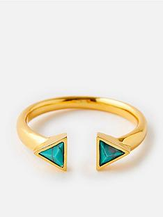 accessorize-z-healing-stone-pyramid-ring-gold