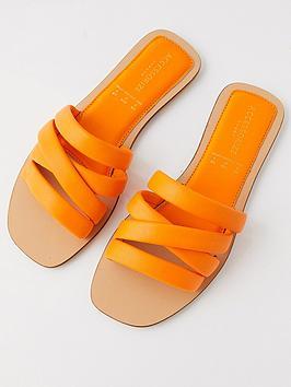 accessorize-sophie-strappy-slider-orange