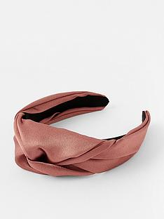 accessorize-twist-satin-alice-band-pink-gold