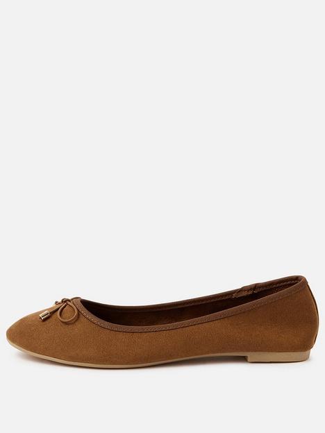 accessorize-sophia-bow-ballerina-shoe-tan