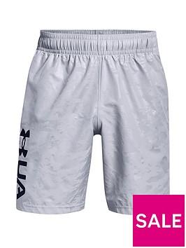 under-armour-trainingnbspwoven-emboss-shorts-greyblack