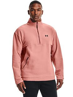 under-armour-trainingnbsprecover-fleece-14-zip-fleece-pink