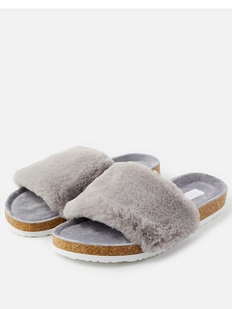 accessorize-symone-faux-furnbspslider-grey