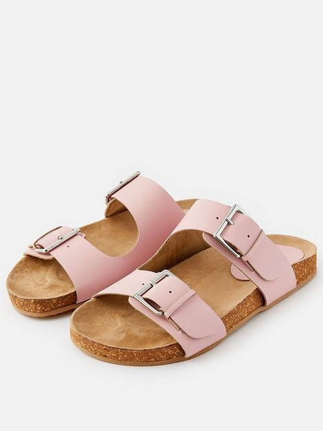 accessorize-buckle-footbed-sandal-multi