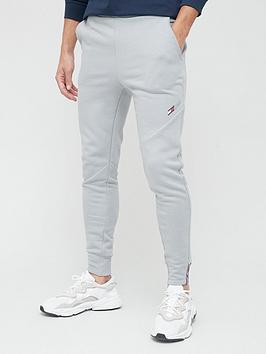 tommy-sport-logo-fleece-pants-grey