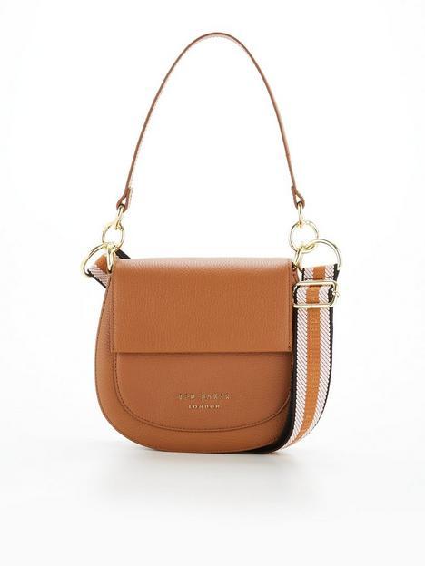 ted-baker-branded-webbing-strap-cross-body-bag-brown