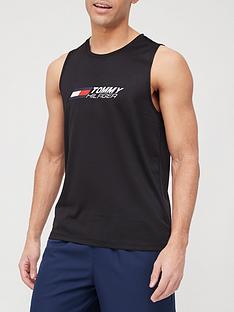 tommy-sport-sport-essential-training-tank-black
