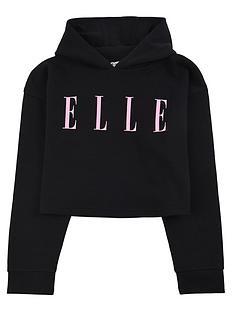 elle-girls-oversize-hoodie-black
