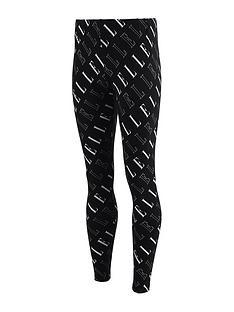 elle-girls-logo-legging-black