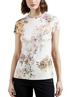 ted-baker-fitted-printed-t-shirt-white