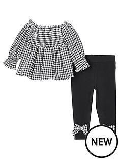 river-island-mini-girls-gingham-shirt-and-legging-set--nbspblack