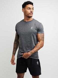 gym-king-sport-stripe-poly-t-shirt-black