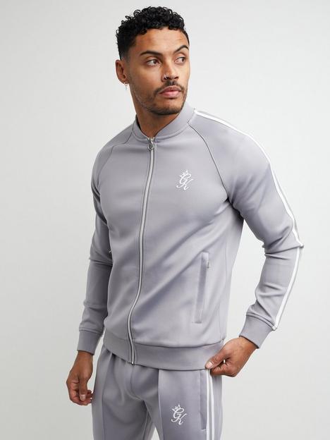 gym-king-taped-poly-premium-track-top--silver-greywhite