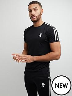 gym-king-taped-poly-t-shirt-blacknbsp