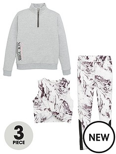 v-by-very-girls-3-piece-marble-active-sweatshirt-vest-and-leggingsnbspset-grey