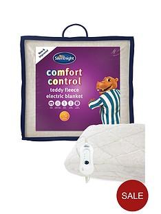 silentnight-fleece-comfort-control-electric-blanket