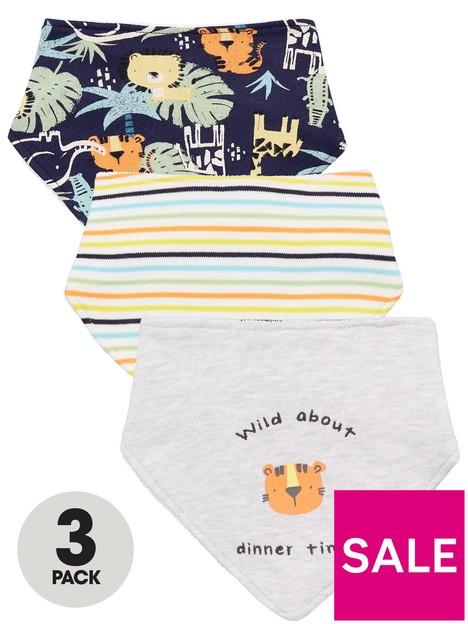 mini-v-by-very-baby-boys-3-pack-jungle-and-stripednbspbandana-towellingnbspbibs-multi