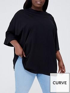 missguided-plus-missguided-plus-drop-shoulder-t-shirt-black