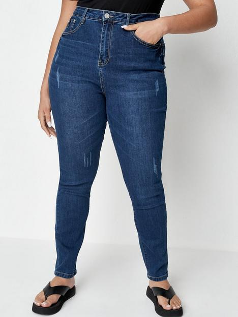 missguided-plus-missguided-plus-sinner-high-waisted-jeans-with-back-seam-detail