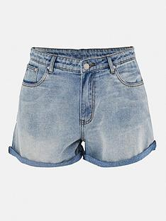 missguided-plus-missguided-plus-size-mom-shorts-blue