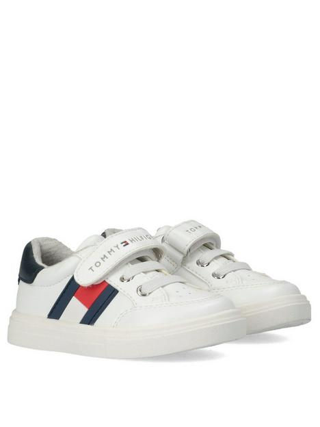tommy-hilfiger-boysnbsplow-cut-velcro-trainers-white