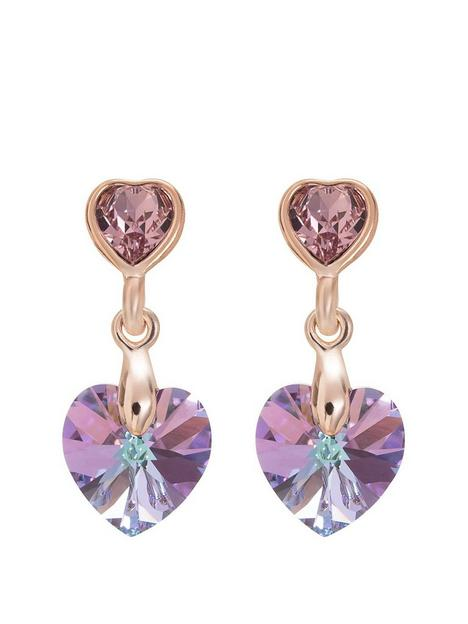 jon-richard-swarovski-rose-paradise-shine-heart-earring