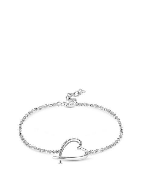 simply-silver-sterling-silver-925-polished-open-heart-bracelet