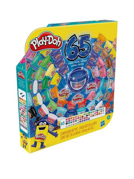 play-doh-ultimate-colour-collection-65-pack-of-assorted-modelling-compounds-for-kids-3-years-and-up-non-toxic-fun-size-1-ounce-cans