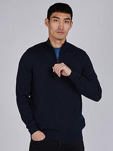 barbour-international-half-zip-knitted-jumper-blacknbsp