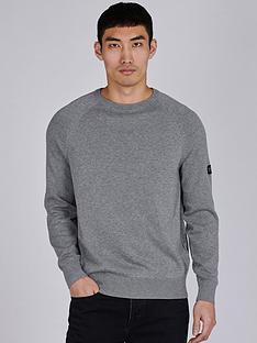 barbour-international-arm-badge-knitted-jumper-anthracite-marlnbsp